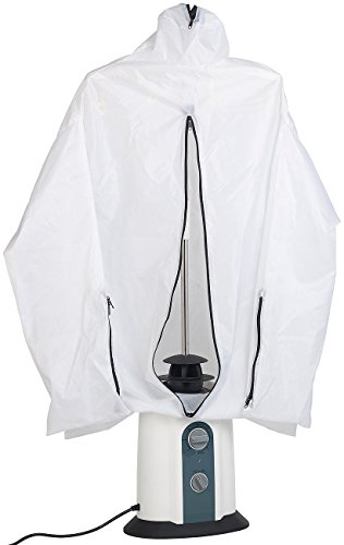 Sichler Haushaltsgeräte Hemdenbügler: 2in1-Bügelpuppe, Warmluft-Gebläse und Kleiderständer, Timer, 850 Watt (Bügelpuppen mit Heizgebläse)